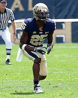 Pitt defensive back Jason Hendricks; The Pittsburgh Panthers defeat the New Hampshire Wildcats 38-16 at Heinz Field, Pittsburgh Pennsylvania on September 11, 2010.