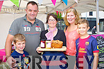 Conor, Shane, Helena and Cillian Buckley Killorglin enjoying the taste of Sharon Ní Shuileabháin bread and jam from Blúiríní Blasta at the Flavour of Killorglin on Sunday