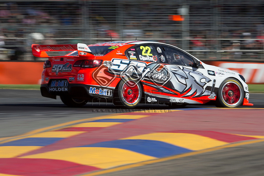 James Courtney of the Holden Racing Team winner of the Clipsal 500, Event 01 of the 2014 Australian V8 Supercars Championship Series at the , , , March 02, 2014  © Sport the library / Mark Horsburgh