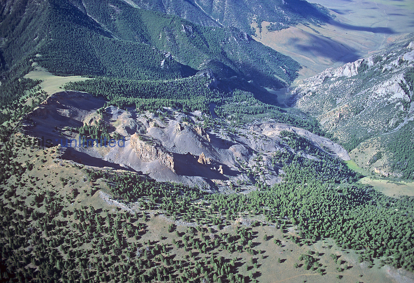 Earth Slide, Briggs Canyon, ID