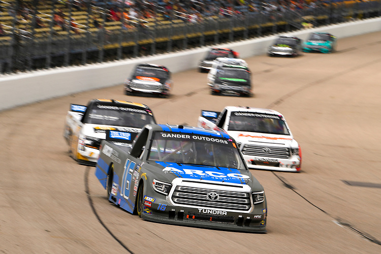 #16: Austin Hill, Hattori Racing Enterprises, Toyota Tundra ARCO National Construction
