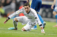 Real Madrid's Mesut Özil reacts during La Liga match. December 16, 2012. (ALTERPHOTOS/Alvaro Hernandez)