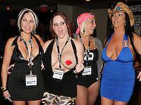 Daisy Dawson, Sage Montana, Carley Taylor, Sammy Brook at AVN Expo, <br /> Hard Rock Hotel, <br /> Las Vegas, NV, Friday January 17, 2014.