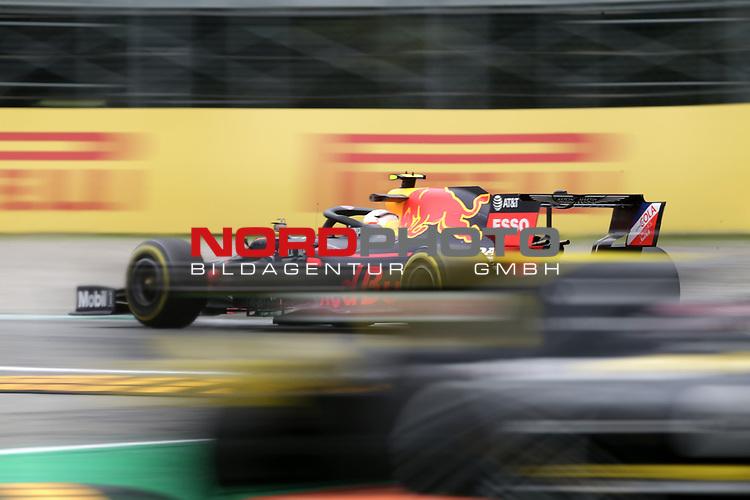 06.09.2019, Autodromo Nazionale di Monza, Monza, FORMULA 1 GRAN PREMIO HEINEKEN D'ITALIA 2019<br />,im Bild<br />Alexander Albon (GBR#23), Aston Martin Red Bull Racing, Nico Hülkenberg (GER#27), Renault F1 Team<br /> <br /> Foto © nordphoto / Bratic