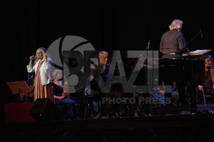 SÃO PAULO, SP, 30.10.2019 - SHOW-SP -<br /> O maestro João Carlos Martins faz show ao lado de Maria Bethânia, no Espaço das Américas em São Paulo, nesta quarta-feira, 30. (Foto: Bruna Grassi / Brazil Photo Press)