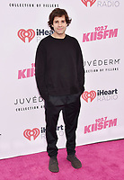 CARSON, CA - JUNE 01: David Dobrik attends 2019 iHeartRadio Wango Tango at The Dignity Health Sports Park on June 01, 2019 in Carson, California.<br /> CAP/ROT/TM<br /> ©TM/ROT/Capital Pictures