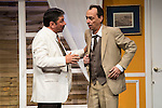 """Jose Luis Gago and Victor Benedé at """"Usted puede ser un asesino"""" Theater play in Muñoz Seca Theater, Madrid, Spain, September 07, 2015. <br /> (ALTERPHOTOS/BorjaB.Hojas)"""