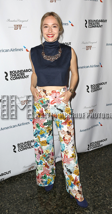 Sarah Goldberg attend 'The Unavoidable Disappearance Of Tom Durnin' Opening Night After Party at Laura Pels Theatre on June 27, 2013 in New York City.