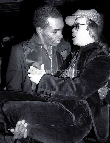 1978 <br /> New York City<br /> Elton John at Studio 54<br /> Credit: Adam Scull-PHOTOlink/MediaPunch