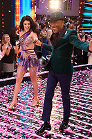 "Lauren Steadman and Danny John Jules<br /> at the launch of ""Strictly Come Dancing"" 2018, BBC Broadcasting House, London<br /> <br /> ©Ash Knotek  D3426  27/08/2018"
