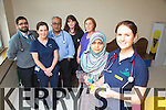 KGH staff won Best Oral Presentation Prize at the Paediatric Thoracic Society Conference in Galway last month . Pictured front Dr. Faiza Yasin, Sue Arthurs, Back l-r Dr. Rizwan Khan, Dr. Akhdar Khan, Dr. Sharon Condon, Helen O'Sullivan, Marie Fitzgerald, Dr. Faiza Yasin, Sue Arthurs