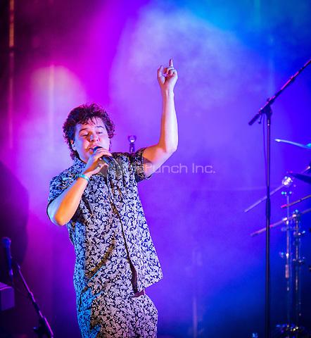 LAS VEGAS, NV - May 15, 2016: ***HOUSE COVERAGE*** Lukas Graham performing at CBS Radio Presents: SPF at The Boulevard Pool at The Cosmopolitan of Las Vegas in Las vegas, NV on May 15, 2016. Credit: Erik Kabik Photography/ MediaPunch