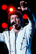 Montreal, Canada - June 30, 1979. This photograph was taken of Robert Charlebois at his concert in Montreal Harbour. Robert Charlebois (born June 25, 1944) is a Quebec author, composer, musician, performer and actor. He is an important figure in French music and his best known songs include Lindberg and Je reviendrai à Montréal.