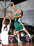 Mississippi Valley State Devilettes guard Kanesha Smith (3) in action during the SWAC Tournament game between theMississippi Valley State Devilettes and the Alabama A&M Bulldogs at the Special Events Center in Garland, Texas. Mississippi Valley State defeats Alabama A & M 52 to 51