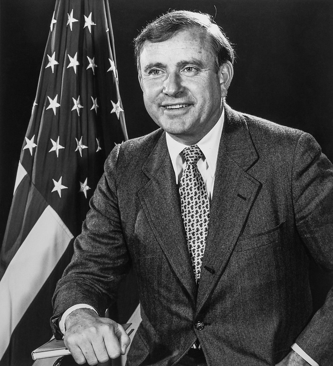 Rep. John H. Rousselot, R-Calif., on February 17, 1980. (Photo by CQ Roll Call)