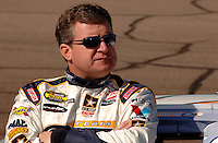 Nov 12, 2005; Phoenix, Ariz, USA;  Nascar Nextel Cup driver Joe Nemechek during qualifying for the Checker Auto Parts 500 at Phoenix International Raceway. Mandatory Credit: Photo By Mark J. Rebilas