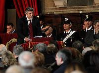 Apertura Anno Giudiziario nel distretto di Napoli nello storico salone dei Busti di Castel Capuano<br /> Lucio Aschettino