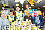 Supporting Kerry Hospice Foundation's Coffee Morning in Sheahan's Centra Supermarket in Glenbeigh<br /> L-R: Nuala Spillane, Mary Riordan, Evelyn O'Shea, Owen Spillane, Tony Mc Sweeney.
