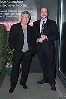 Bill Murray and Jonathan Sothcott spotted arriving at Pepenero