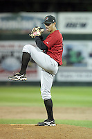 August 14, 2009: Cameron Bayne of the Great Falls Voyagers. The Voyagers are Pioneer League affiliate for the Chicago White Sox. Photo by: Chris Proctor/Four Seam Images