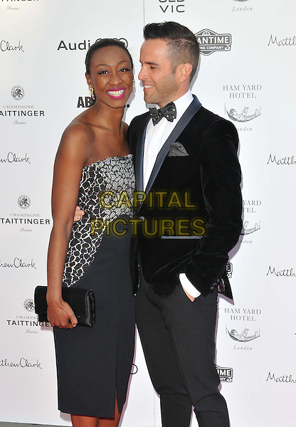 LONDON, ENGLAND - APRIL 19: Beverley Knight &amp; James O'Keefe attend the Gala Celebration in Honour of Kevin Spacey, The Old Vic theatre, The Cut, on Sunday April 19, 2015 in London, England, UK. <br /> CAP/CAN<br /> &copy;Can Nguyen/Capital Pictures