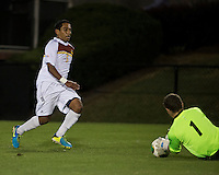 The Winthrop University Eagles lose 2-1 in a Big South contest against the Campbell University Camels.  C.J. Miller (5), Ethan Hall (1)