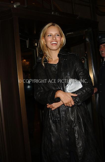 WWW.ACEPIXS.COM . . . . . ....October 25, 2006, New York City. ....Karolina Kurkova attends the Marchesa's 2nd Anniversary held at Bergdorf Goodman. ....Please byline: KRISTIN CALLAHAN - ACEPIXS.COM.. . . . . . ..Ace Pictures, Inc:  ..(212) 243-8787 or (646) 769 0430..e-mail: info@acepixs.com..web: http://www.acepixs.com