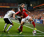 Gareth Bale of Wales holds up play in the final minutes during the World Cup Qualifying Group D match at the Cardiff City Stadium, Cardiff. Picture date 2nd September 2017. Picture credit should read: Simon Bellis/Sportimage