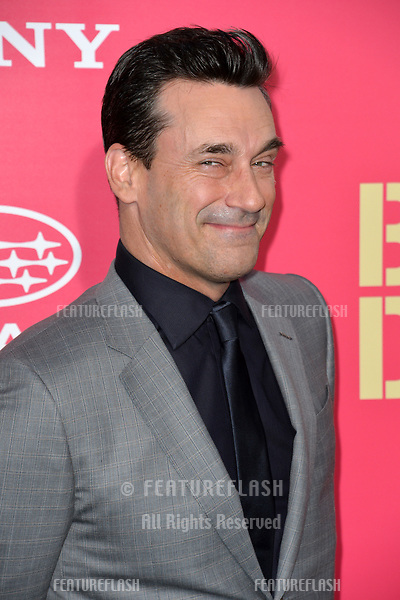 Jon Hamm at the Los Angeles premiere for &quot;Baby Driver&quot; at the Ace Hotel Downtown. <br /> Los Angeles, USA 14 June  2017<br /> Picture: Paul Smith/Featureflash/SilverHub 0208 004 5359 sales@silverhubmedia.com