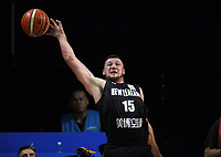 New Zealand's Tom Vodanovich stretches for the ball during the FIBA World Cup Asia qualifier between the New Zealand Tall Blacks and Syria at TSB Bank Arena in Wellington, New Zealand on Sunday, 2 December 2018. Photo: Dave Lintott / lintottphoto.co.nz