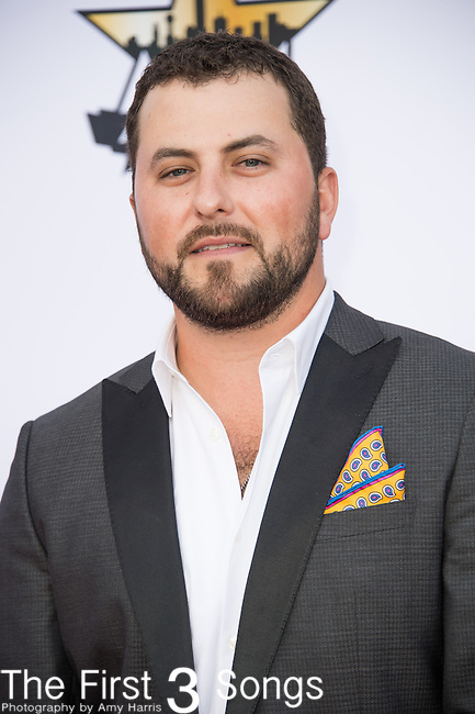 Tyler Farr attends the 50th Academy Of Country Music Awards at AT&T Stadium on April 19, 2015 in Arlington, Texas.