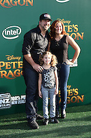 HOLLYWOOD, CA- AUGUST 8:  Joey Fatone at the Disney premiere of 'Pete's Dragon' at El Capitan Theater in Hollywood, California, on August 8, 2016. Credit: David Edwards/MediaPunch