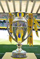 Aviva Premiership Final .Twickenham, England. Aviva Premiership Cup during the AVIVA Premiership Final between Harlequins and Leicester Tigers at Twickenham Stadium on May 26, 2012 in London, United Kingdom.