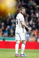 Real Madrid's Karim Benzema during La Liga match. March 1,2017. (ALTERPHOTOS/Acero) /NORTEPHOTOmex