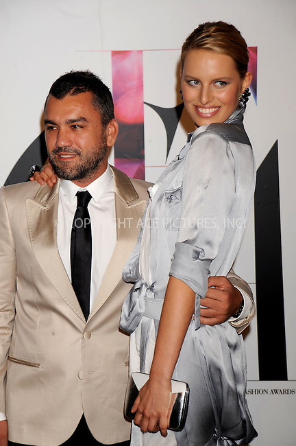 WWW.ACEPIXS.COM . . . . .....June 2, 2008. New York City.....Designer Edmundo Castillo of Sergio Rossi and model Karolina Kurkova attend the 2008 CFDA Fashion Awards held at the New York Public Library...  ....Please byline: Kristin Callahan - ACEPIXS.COM..... *** ***..Ace Pictures, Inc:  ..Philip Vaughan (646) 769 0430..e-mail: info@acepixs.com..web: http://www.acepixs.com