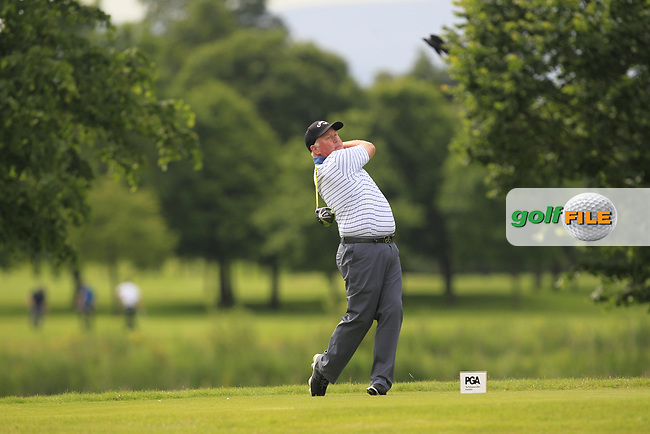 Brendan McGovern (Headfort GC) on the 8th tee during Round 2 of the Titleist &amp; Footjoy PGA Professional Championship at Luttrellstown Castle Golf &amp; Country Club on Wednesday 14th June 2017.<br /> Photo: Golffile / Thos Caffrey.<br /> <br /> All photo usage must carry mandatory copyright credit     (&copy; Golffile | Thos Caffrey)