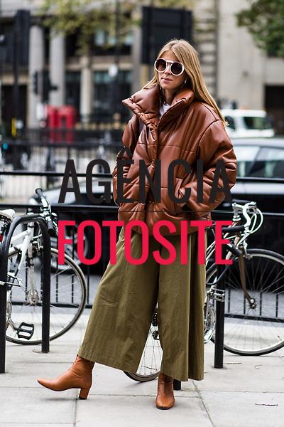 Street Style - Moda de Rua<br /> <br /> Londres - Verao 2018<br /> <br /> foto: FOTOSITE