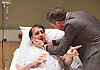 4000 Days<br /> by Peter Quilter<br /> directed by Matt Aston at Park Theatre, London, Great Britain <br /> 14th January 2016 <br /> <br /> Daniel Weyman as Paul <br /> <br /> Alistair McGowan as Michael <br /> <br /> <br /> <br /> Photograph by Elliott Franks <br /> Image licensed to Elliott Franks Photography Services