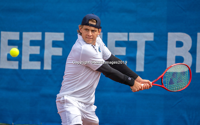 Zandvoort, Netherlands, 8 June, 2019, Tennis, Play-Offs Competition, Zizou Bergs<br /> Photo: Henk Koster/tennisimages.com