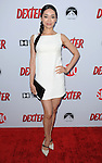 "Aimee Garcia arriving at showtime's ""Dexter Season Eight Premiere Party"" held at MILK Studios in Los Angeles on June 15, 2013"