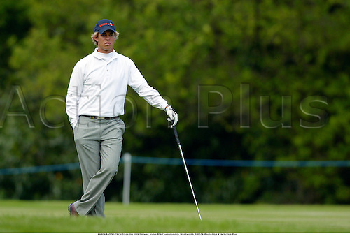 AARON BADDELEY (AUS) on the 18th fairway, Volvo PGA Championship, Wentworth, 020524. Photo:Glyn Kirk/Action Plus...2002.golf golfers golfer.ball sports