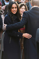 Prince Harry and Meghan Markle visit a Terrence Higgins Trust World AIDS Day Charity Fair, Nottingham Contemporary in Nottingham England on December 01 2017<br /> CAP/IA<br /> &copy;Ian Allis/Capital Pictures /MediaPunch ***NORTH AND SOUTH AMERICAS ONLY***