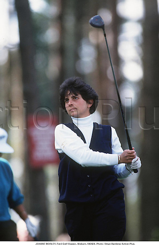 JOANNE MORLEY, Ford Golf Classic, Woburn, 940424. Photo: Steve Bardens/ Action Plus...1994.woman.golfer golfers