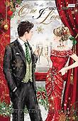 Jonny, CHRISTMAS SYMBOLS, paintings, GBJJXWW06,#XX# Symbole, Weihnachten, símbolos, Navidad, illustrations, pinturas