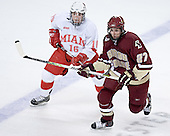 (Justin Mercier) Andrew Orpik - The Boston College Eagles defeated the Miami University Redhawks 5-0 in their Northeast Regional Semi-Final matchup on Friday, March 24, 2006, at the DCU Center in Worcester, MA.