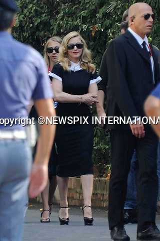 """MADONNA.at the 68th Venice Film Festival,Venice, Italy_04/09/2011.Mandatory Credit Photo: ©Massimo/NEWSPIX INTERNATIONAL..**ALL FEES PAYABLE TO: """"NEWSPIX INTERNATIONAL""""**..IMMEDIATE CONFIRMATION OF USAGE REQUIRED:.Newspix International, 31 Chinnery Hill, Bishop's Stortford, ENGLAND CM23 3PS.Tel:+441279 324672  ; Fax: +441279656877.Mobile:  07775681153.e-mail: info@newspixinternational.co.uk"""