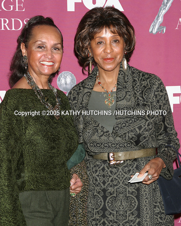 MARLA GIBBS AND SISTER.NAACP IMAGE AWARDS NOMINEES LUNCHEON.BEVERLY HILTON HOTEL.BEVERLY HILLS, CA.MARCH 5, 2005.©2005 KATHY HUTCHINS /HUTCHINS PHOTO.......