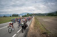 peloton roll-out; 'let the games begin!'<br /> <br /> Stage 15: Ivrea to Como (232km)<br /> 102nd Giro d'Italia 2019<br /> <br /> ©kramon