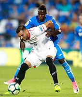 GETAFE CF v SEVILLA FC. LA LIGA 2017/2018. ROUND 2.