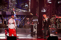LAS VEGAS, NV - October 10:   CeeLo Green and Rod Stewart pictured at CeeLo Green & Friends at Planet Hollywood Resort & Casino on October 10, 2012 in Las Vegas, Nevada.© Kabik/ Starlitepics / MediaPunch Inc. /NortePhotoAgency